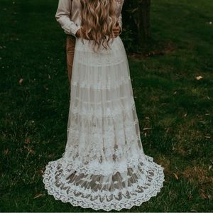 Spell & The Gypsy Collective Dresses - Spell Bride Canyon Moon Mesh Duster
